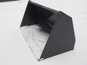 Lumikauha –  Kramer kuormaajaan