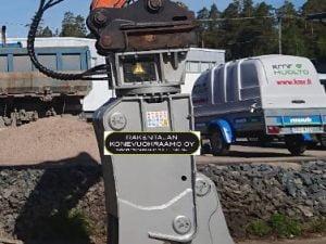 Pulverointi koura pyörivä NTP-20