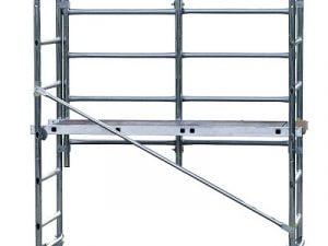 Alumiiniteline, tasokorkeus 3 m
