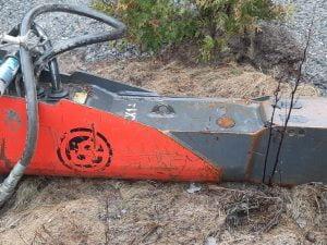 Hydraulivasara kiinnike S-60 tai NTP10
